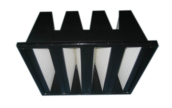 Combined sub-high efficiency filter